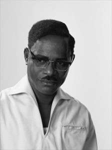 Patrice Lumumba, dalla serie African Spirits di  Samuel Fosso (2008).