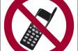 TelefoniNo vietato